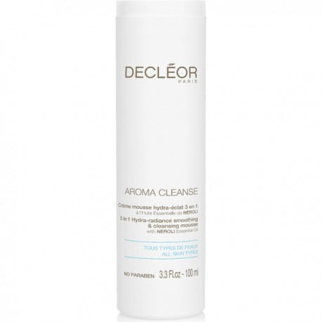 DECLEOR AROMA CLEANSE CREMA MOUSSE DETERGENTE 3 IN 1